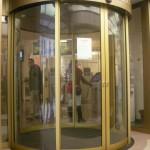 Automatické kruhové dvere